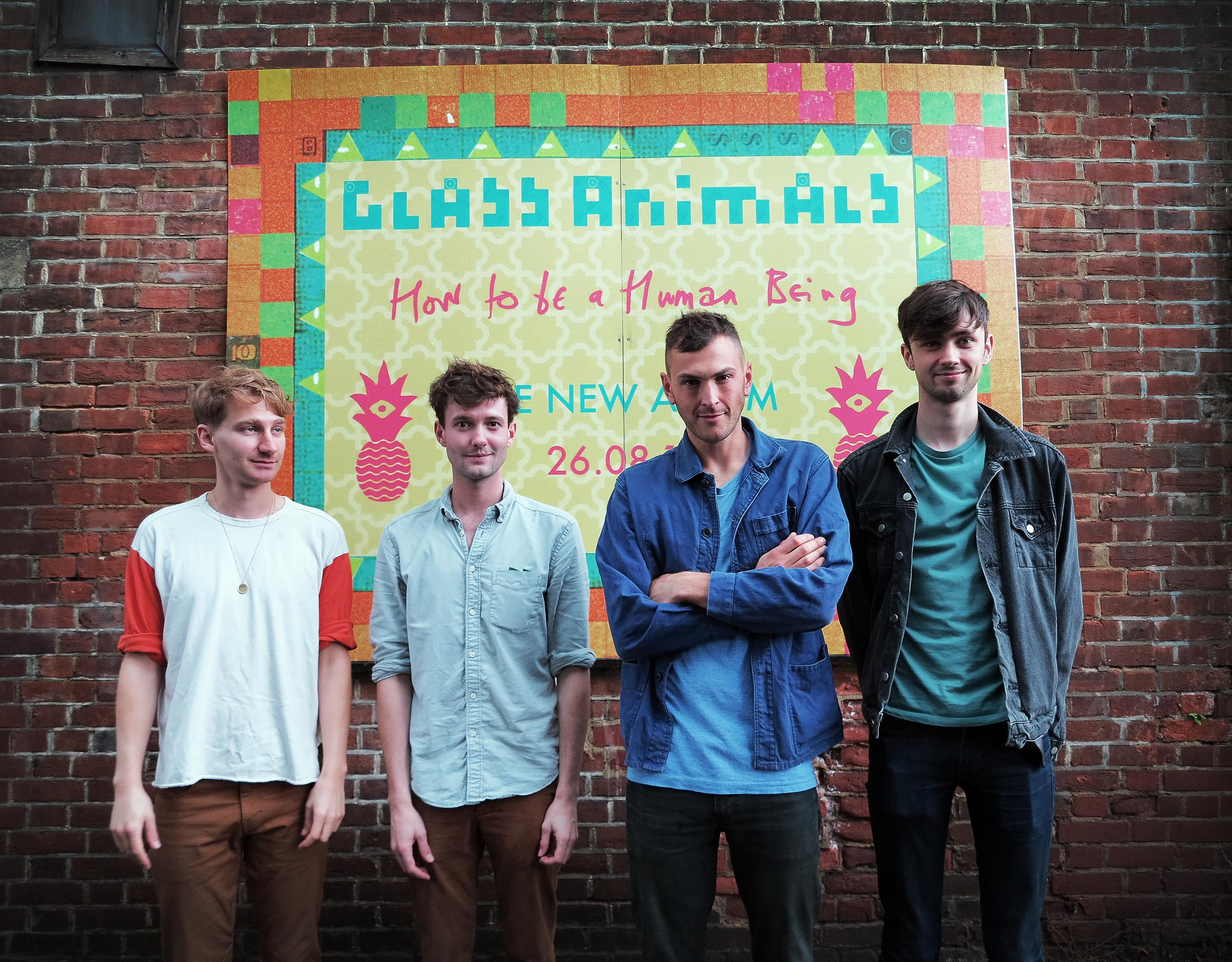 "27.08.16.Truck Store, Cowley Road, Oxford, OX4.For: Ed Nix (ed.nix@oxfordshire.newsquest.co.uk).Catchline: Glass Animals Signing.Oxford band Glass Animals launch their new album ""How To Be A Human Being"" at Truck Store on Cowley Road - Dave Bayl"
