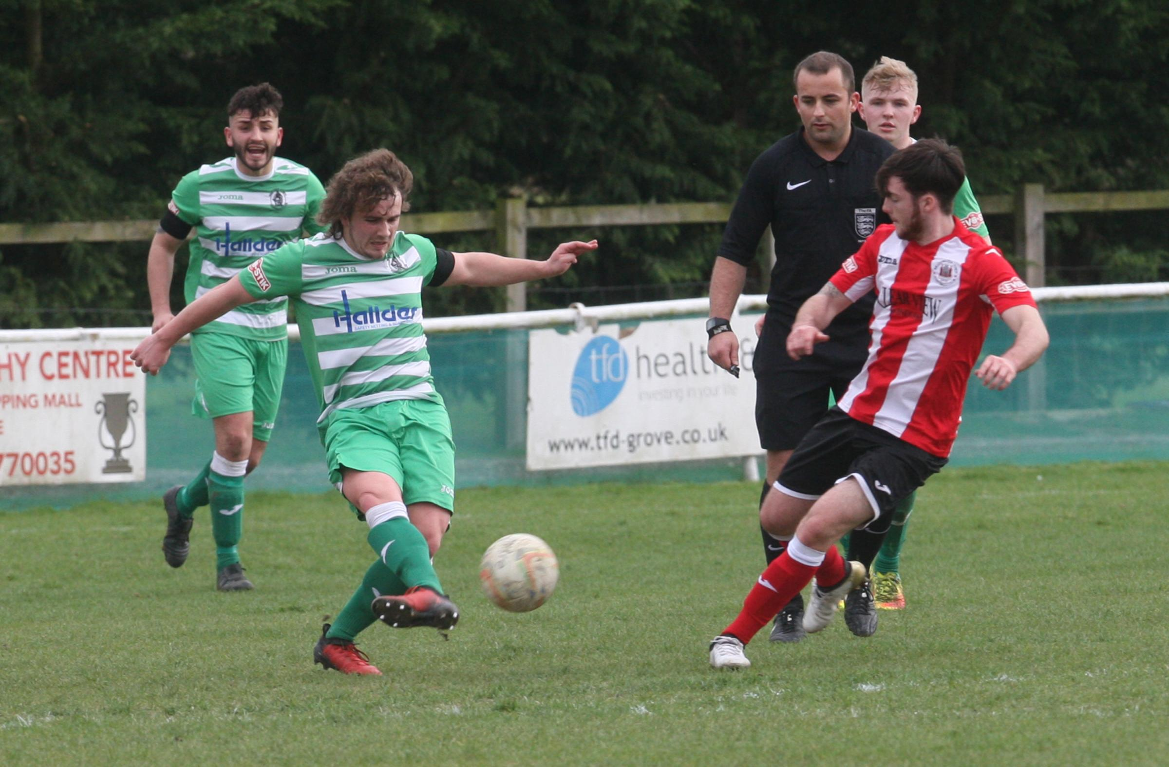 GOING BACK: Ryan Markham has returned to Wantage from Didcot Town