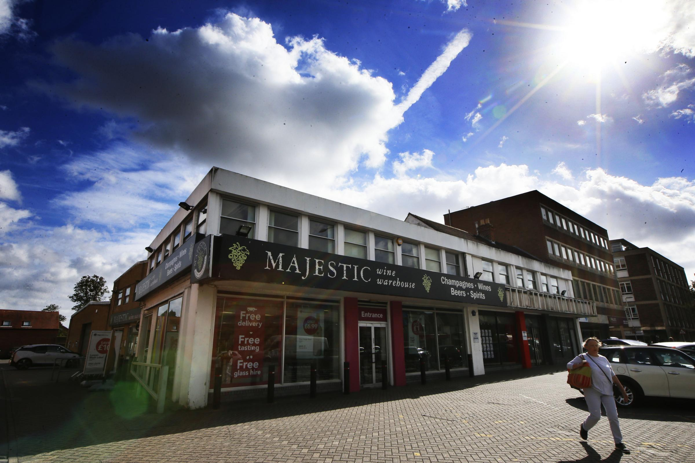 Majestic Wine in Summertown (Banbury Road, Oxford) in September 2018 before being demolished to make way for a new easyHotel. Picture: Ed Nix