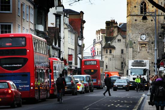 Broad Street in Oxford, which experts said could be the jewel in the city's crown