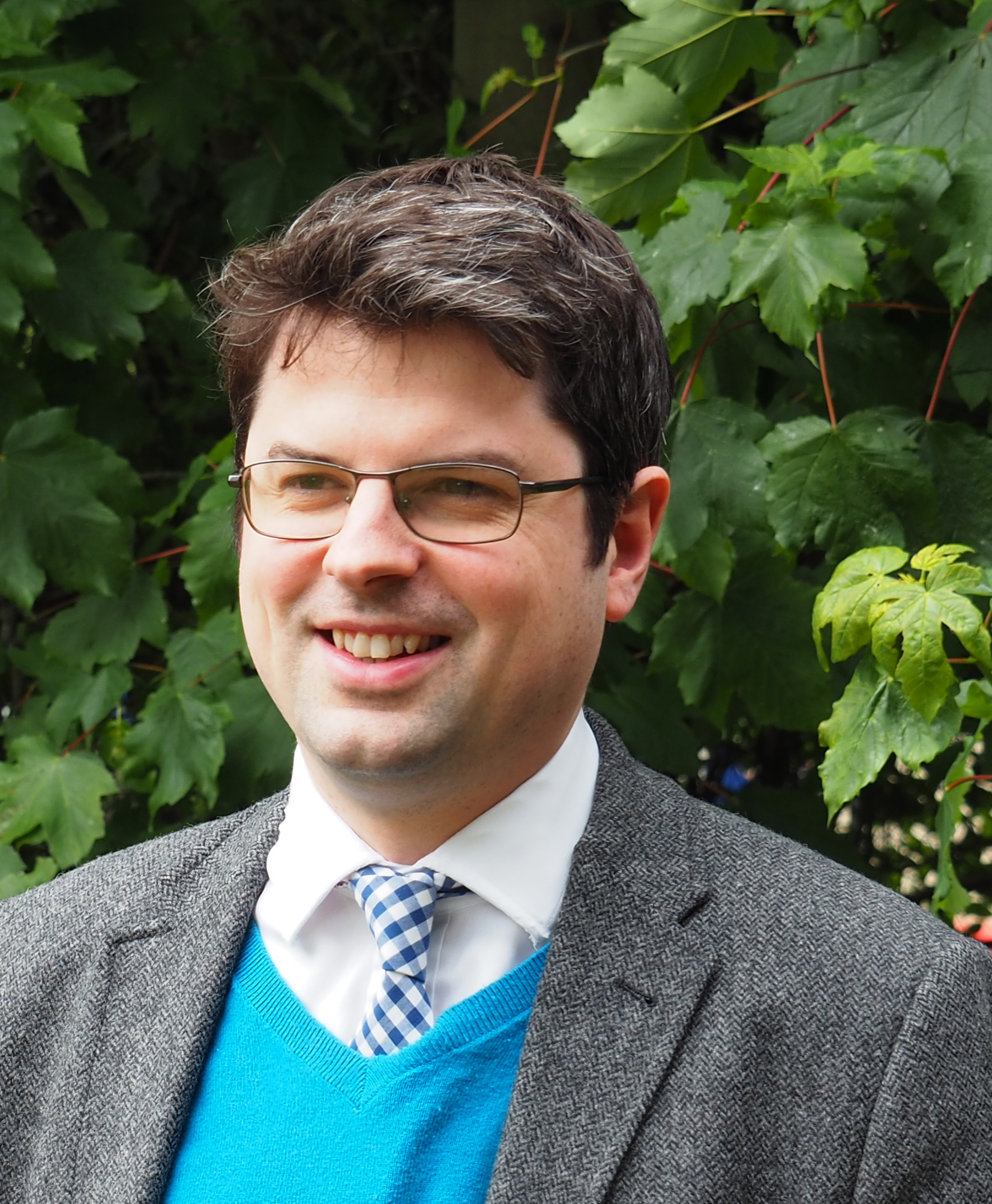 New College School deputy head academic Dr Matthew Jenkinson..