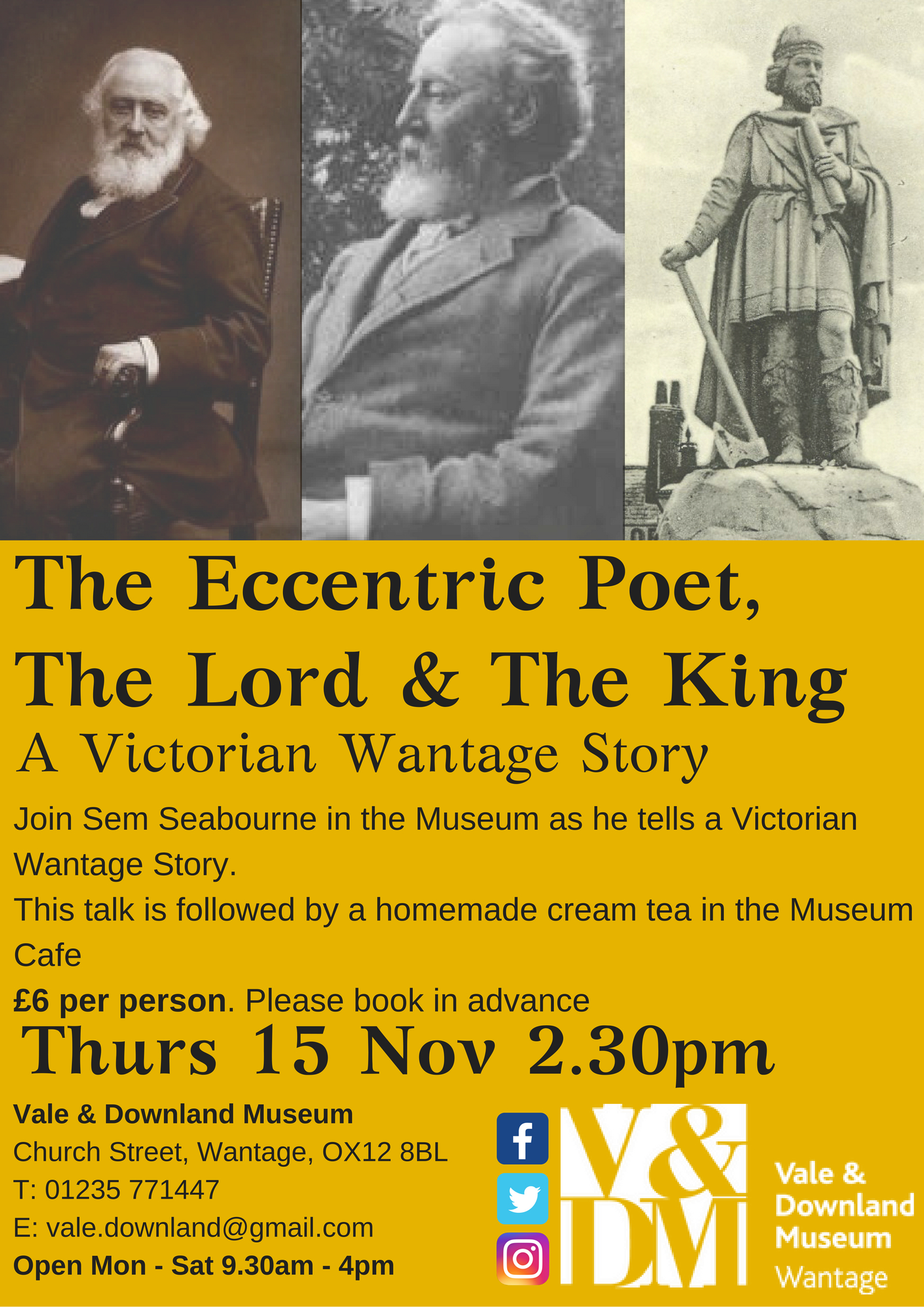 The Eccentric Poet The Lord & The King A Victorian Wantage Story