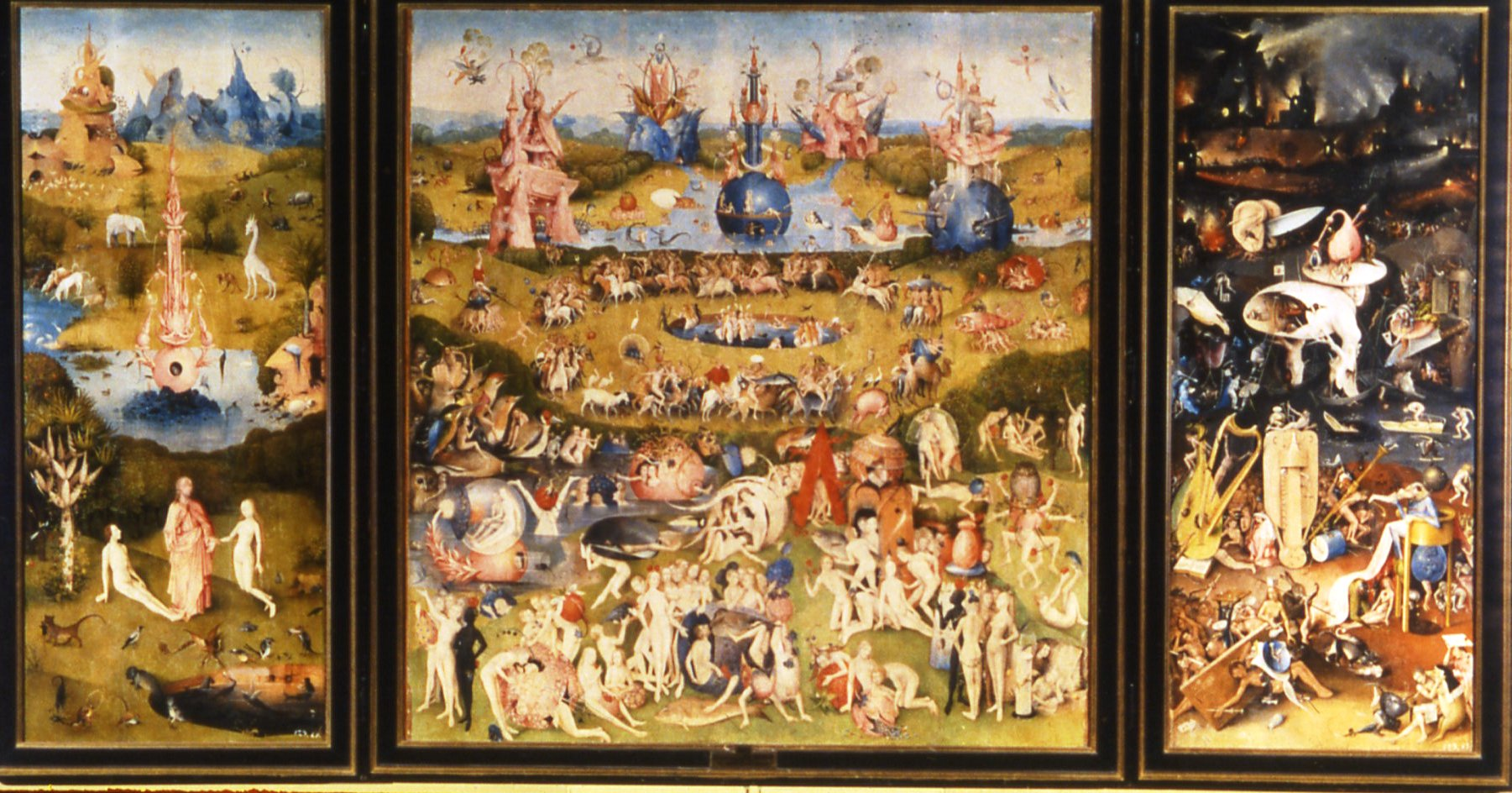 Paintings of Hieronymus Bosch by Arts Society Lecturer Val Woodgate
