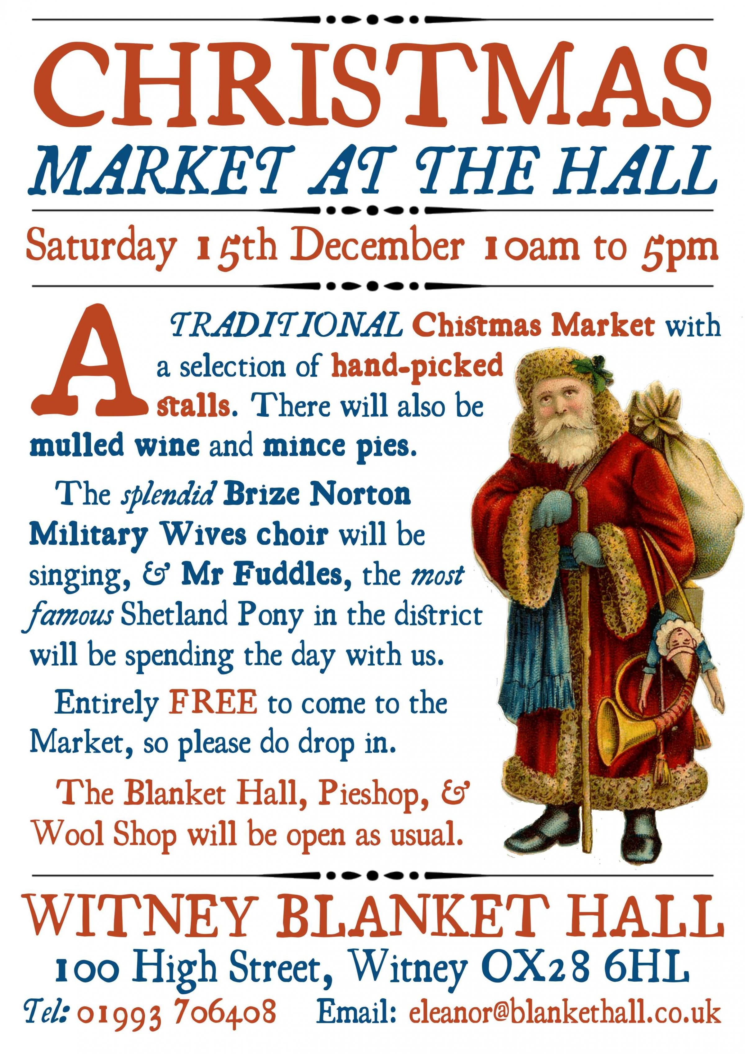 Christmas Market at the Hall