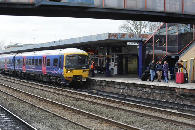 Damage to overhead wires will severely disrupt train services throughout the day