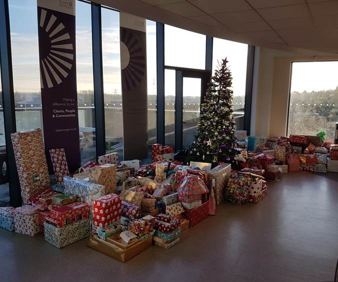 Blake Morgan's Oxford office is co-ordinating a Secret Santa for disadvantaged children Picture: Camargue