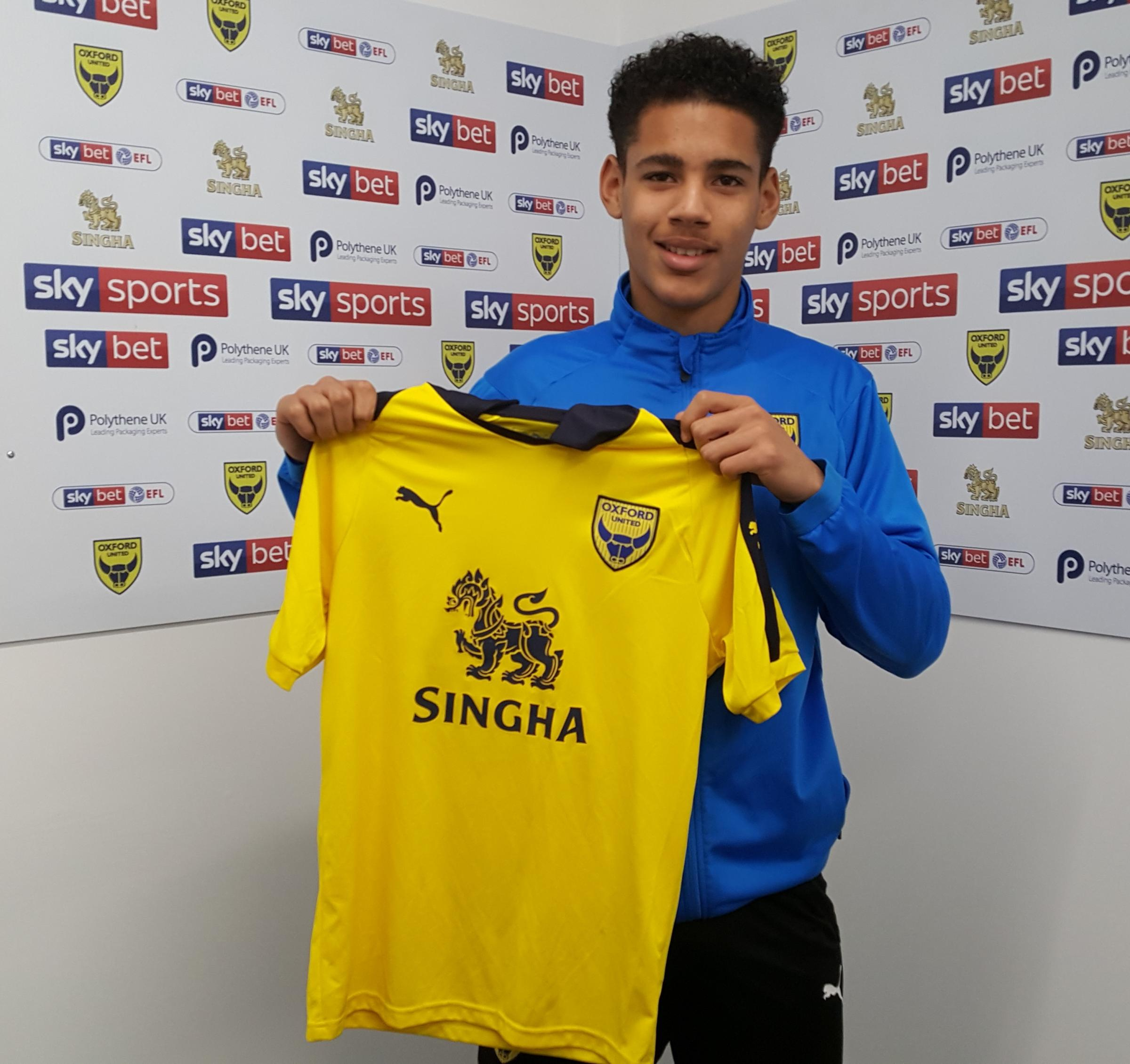Kyran Lofthouse agreed professional terms with Oxford United this week