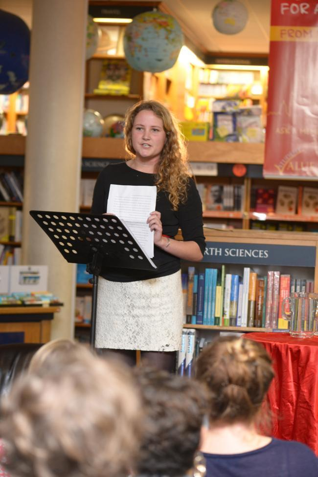 Daisy Johnson reads at Blackwell's