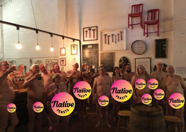 The supper club at Tap Social - picture. Native Feasts