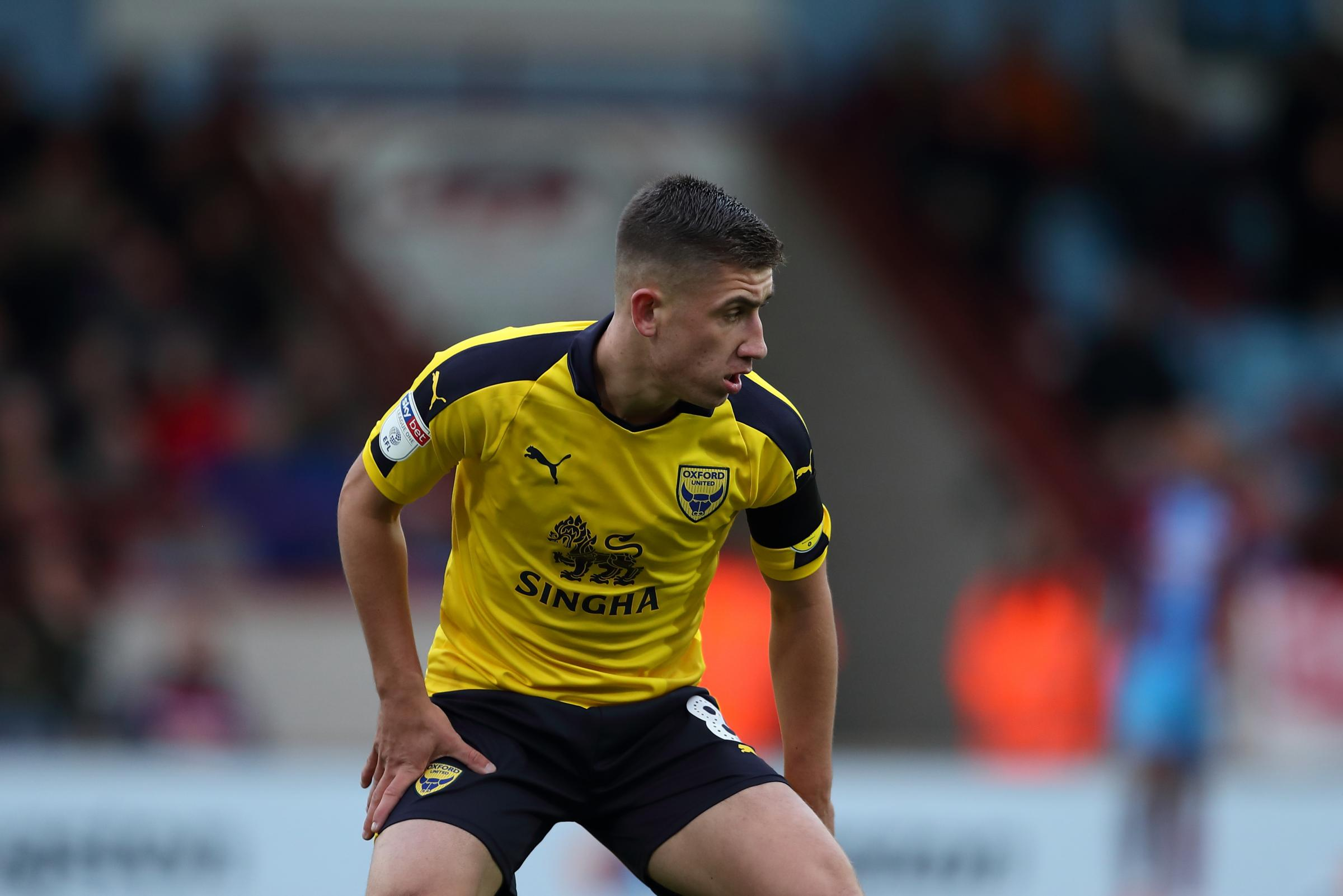 Cameron Brannagan admits it has been hard to watch Oxford United win their last two games while he was suspendedPicture: James Williamson