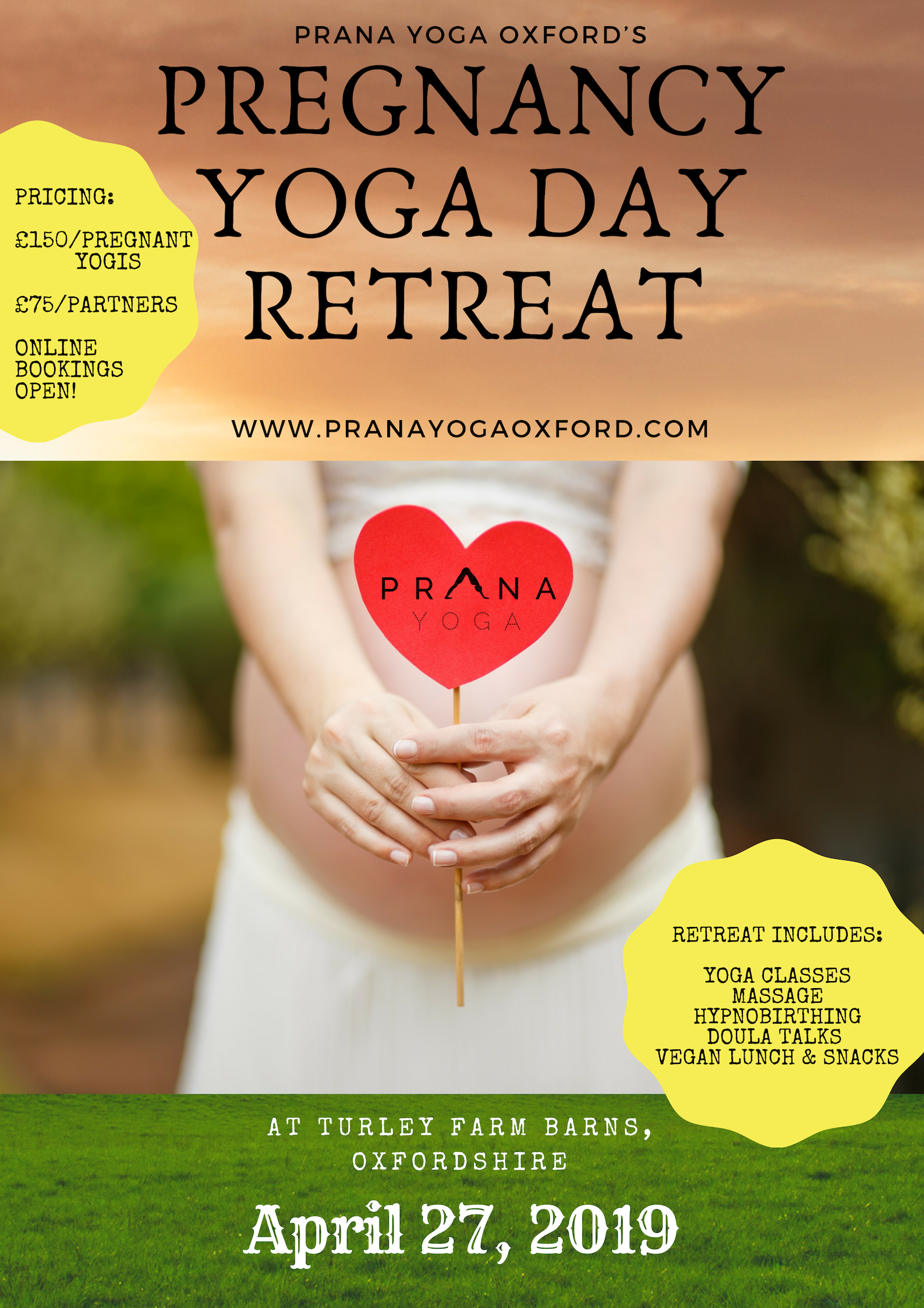 Pregnancy Yoga Day Retreat