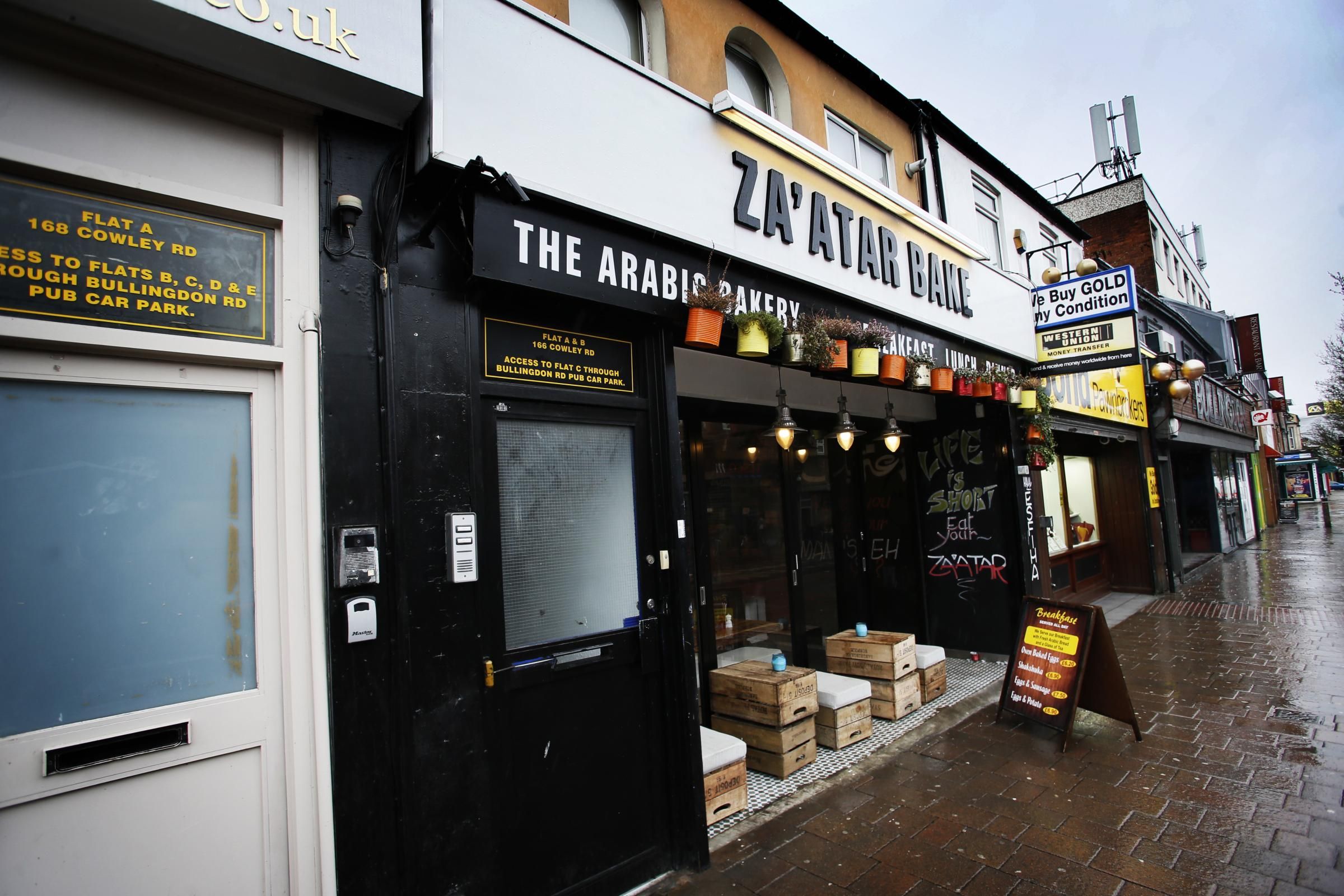Za'atar Bake on the Cowley Road Picture: Ed Nix