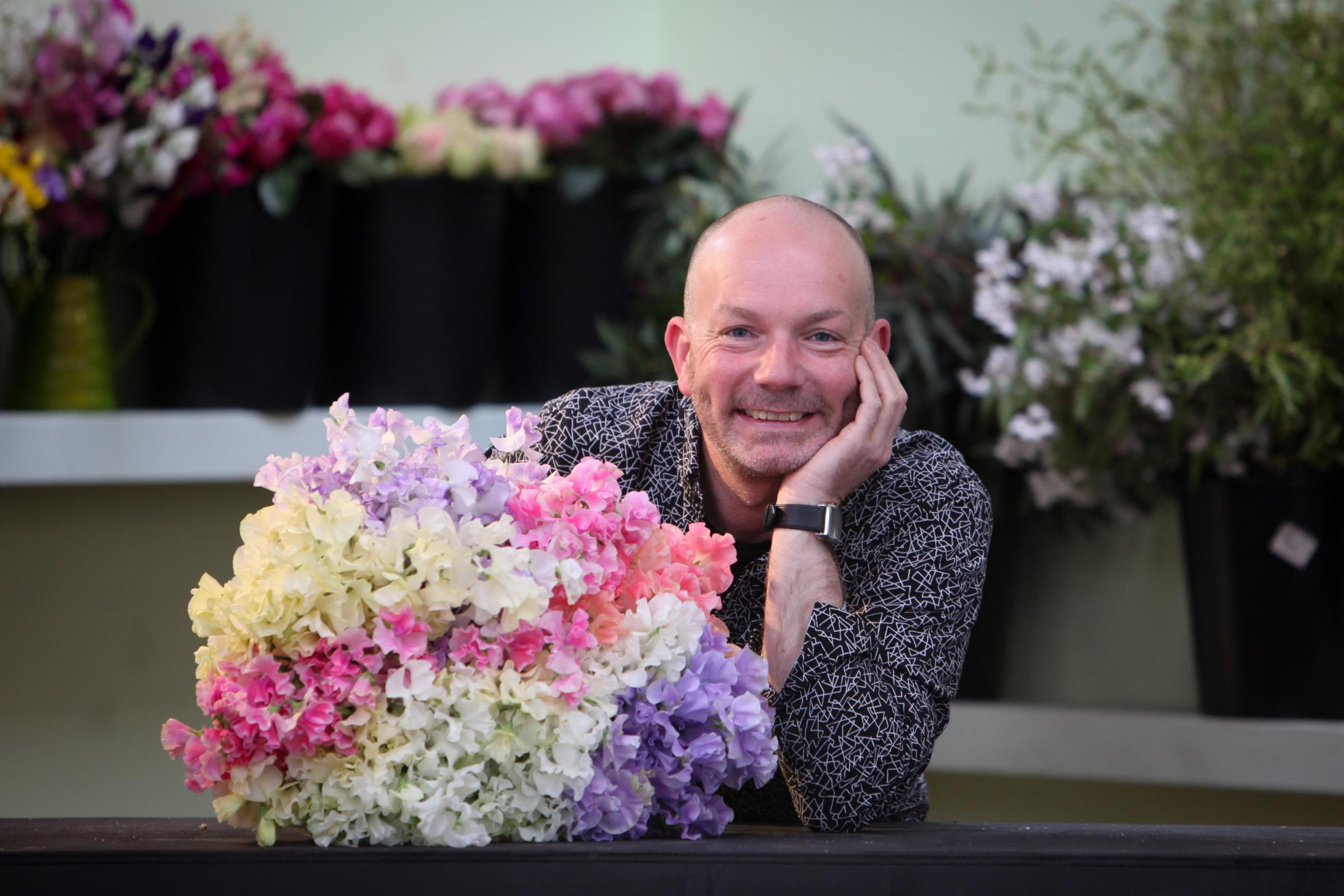 Flower show presenter and BBC judge Jonathan Moseley. Picture: Stuart Purfield - Photographer