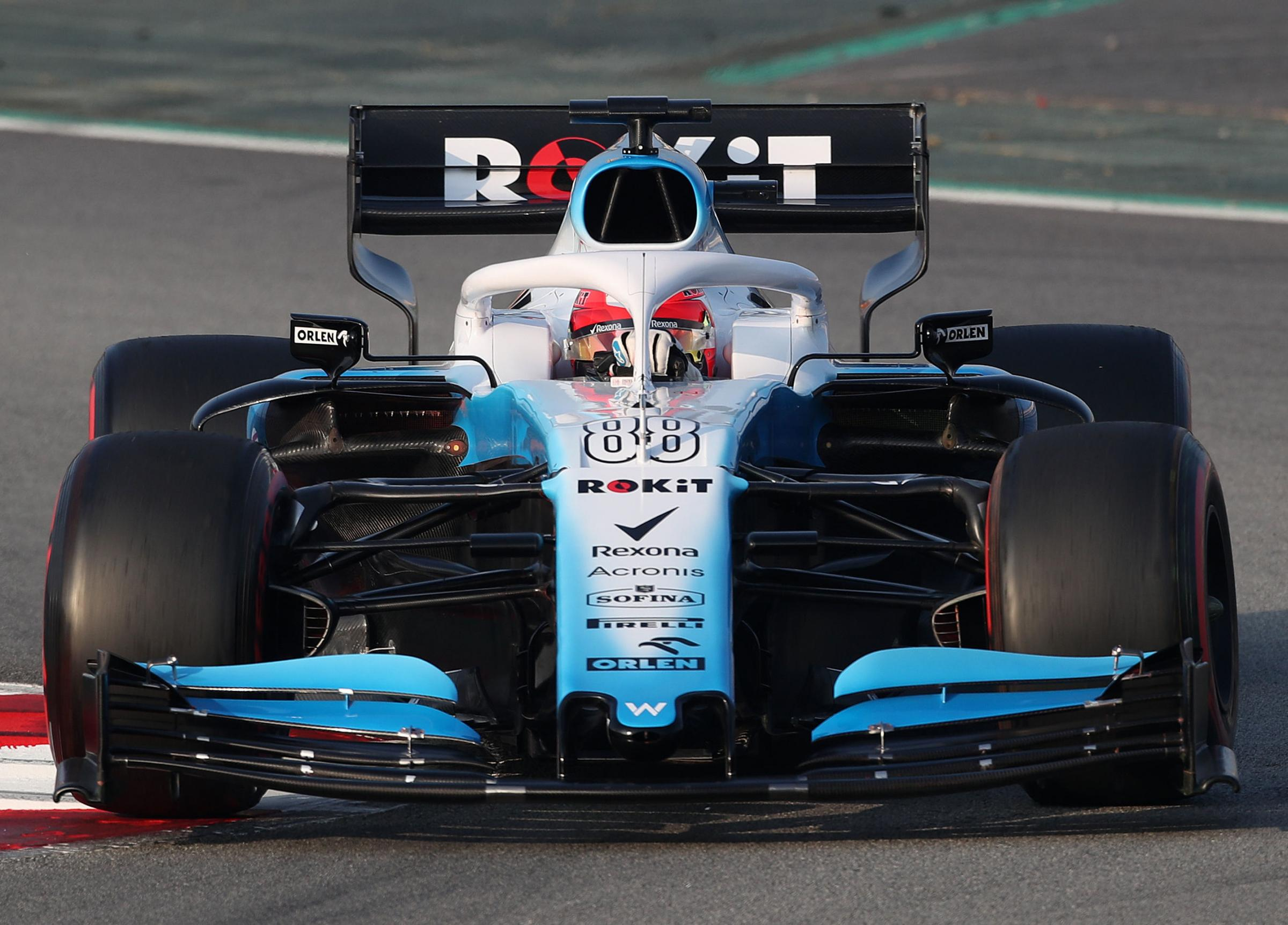 Robert Kubica, pictured during pre-season testing for Williams, is expecting his first F1 race since 2010 to be an emotional occasion Picture: David Davies/PA Wire