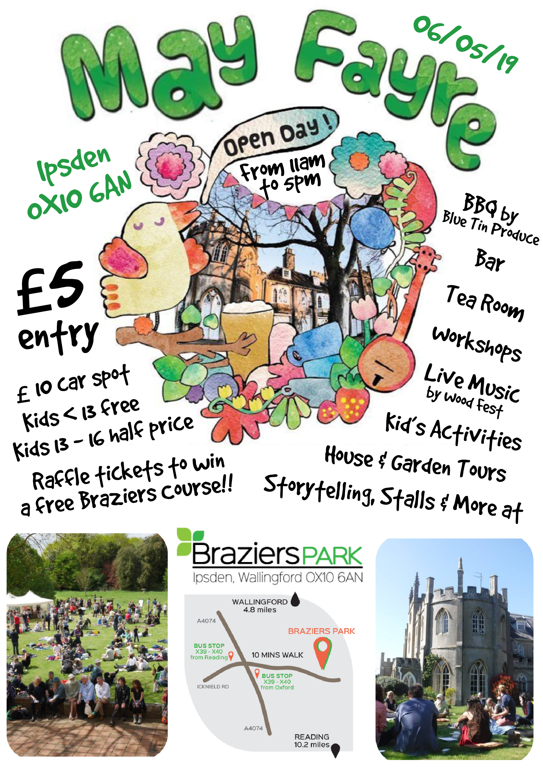 May Fayre Open Day
