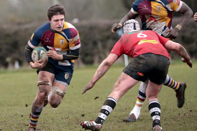 Jack Todd comes into the Oxford Harlequins side for the clash with NewburyPicture: Ric Mellis