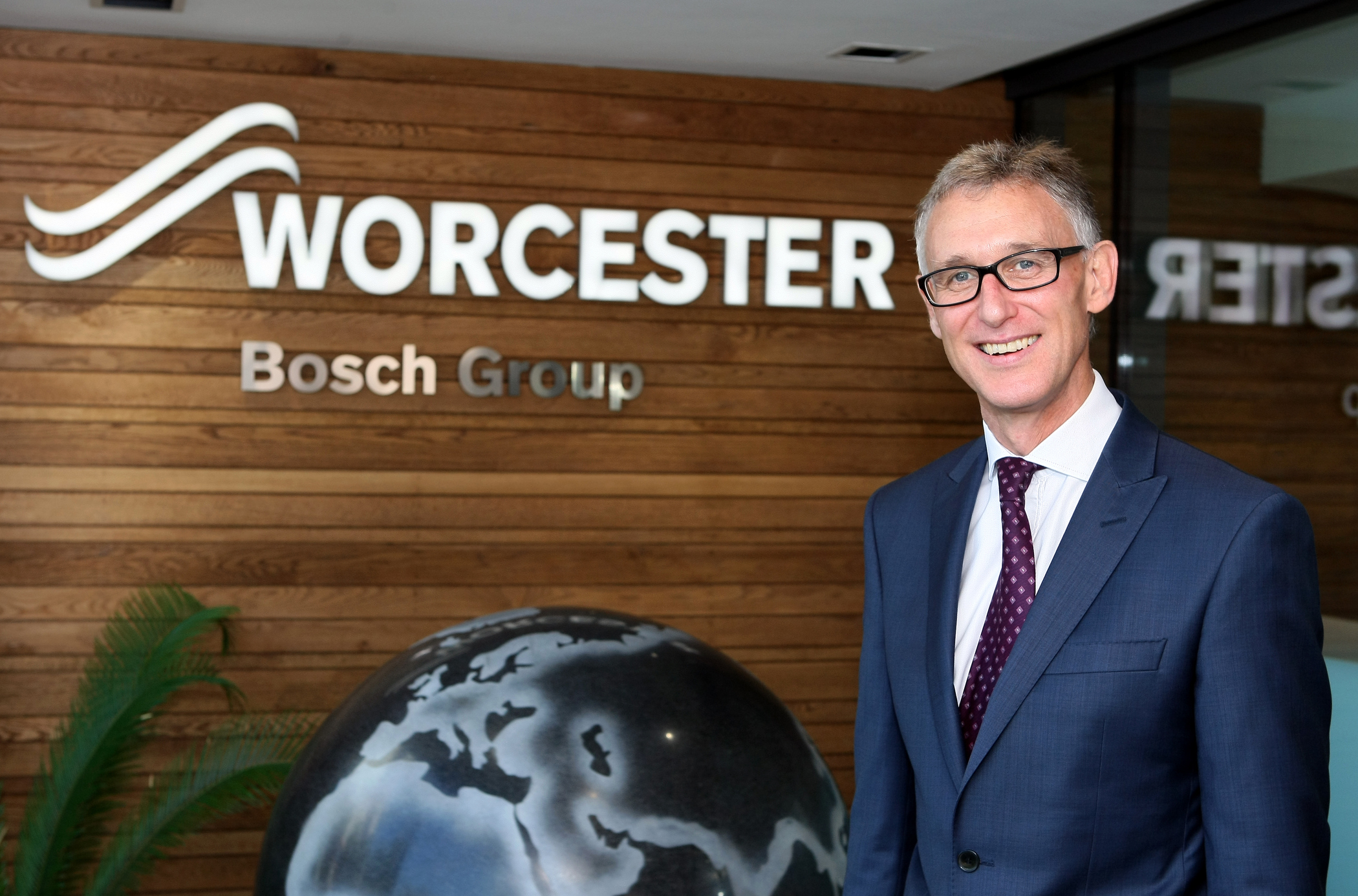 WARNING: Carl Arntzen, CEO of Worcester Bosch, said the ban was a 'shame'