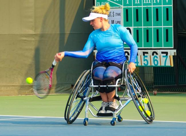 Jordanne Whiley Picture: LTA