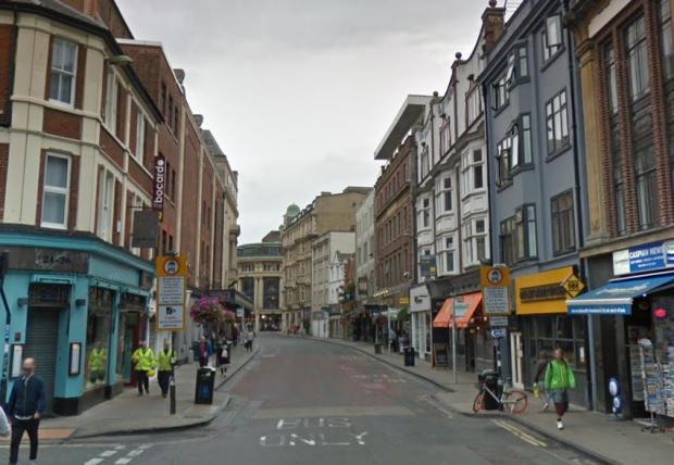 The Oxford Times: George Street, Oxford. Picture via Google Maps