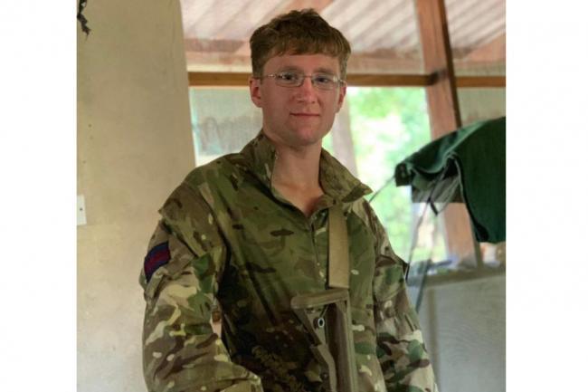 Guardsman Mathew Talbot.