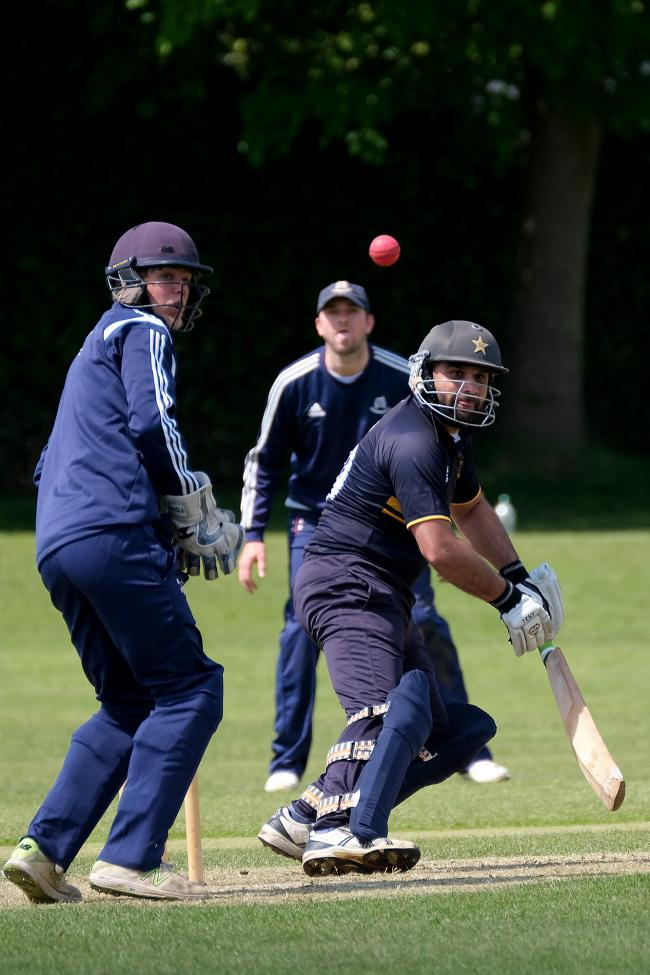 Muhammad Ayub hit 92 as Oxford made it three straight victories 	                 Picture: Ric Mellis
