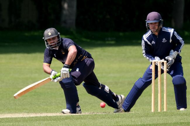 Oxford's Muhammad Ayub scored 184 runs in May Picture: Ric Mellis