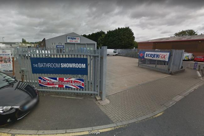 Screwfix in Horspath Industrial estate. Picture: Google Maps
