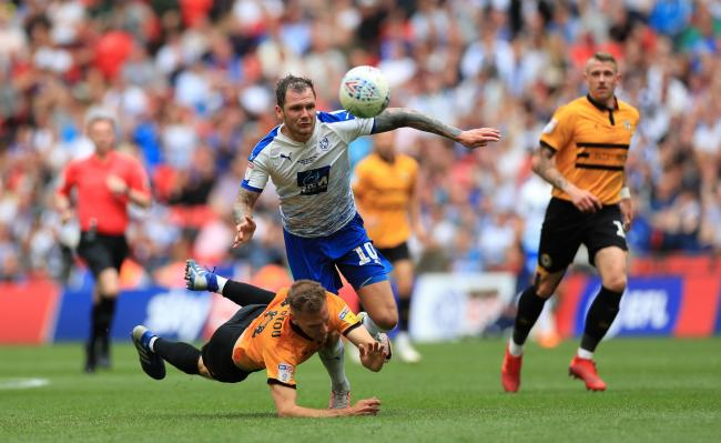 James Norwood in action for Tranmere Rovers in the League Two play-off final last month. He has now joined Ipswich TownPicture: Mike Egerton/PA Wire