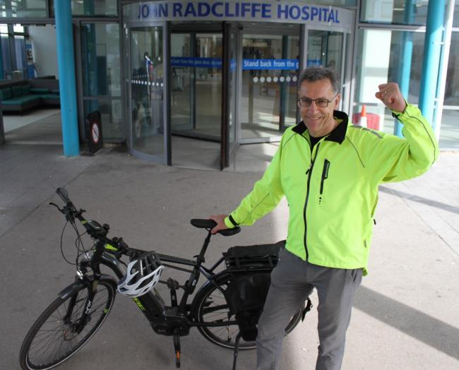 OUH NHS Foundation Trust CEO Bruno Holthof gearing up for 200 mile challenge for #TOO500