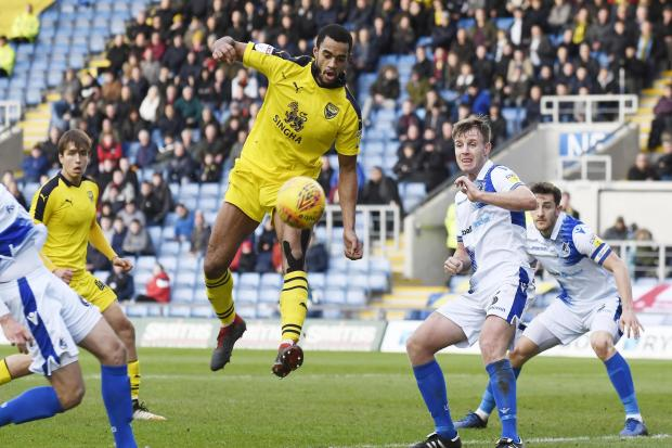 Curtis Nelson made 121 appearances in three seasons with Oxford United Picture: David Fleming